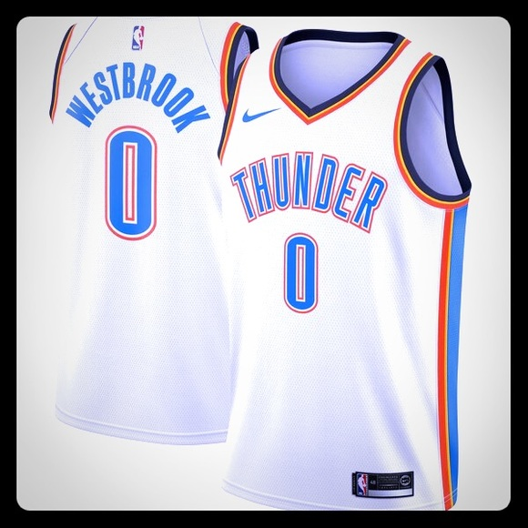 another chance 010f3 4a577 Okc Thunder Westbrook Jerseys NWT